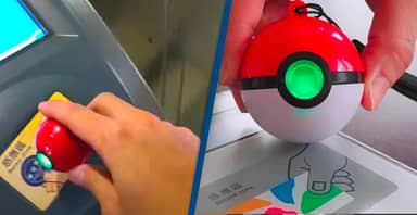 Poké Balls Can Be Used To Ride The Subway And Pay for Snacks In Taiwan