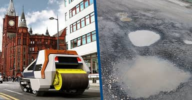 Pothole-Repairing Robots That Can Fix Roads Automatically Could Arrive In UK By 2021