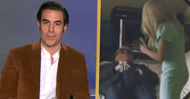 Sacha Baron Cohen Says He Was 'Concerned' Watching Trump's Attorney In Hotel Room