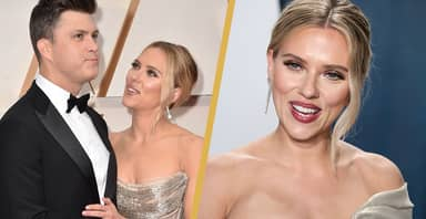 Scarlett Johansson Married Partner In Secret Ceremony Over The Weekend