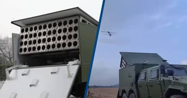 China Launches Swarm Of Explosive 'Suicide Drones' From Back Of A Lorry