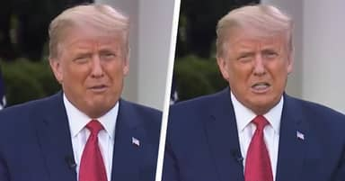 Trump Has Medical Exam On TV In First Interview After COVID Diagnosis