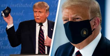 Trump Said End Of Pandemic 'In Sight' Hours Before Testing Positive For Virus
