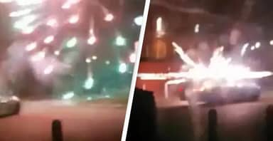 Crowds Launch Fireworks At Animal Hospital With Terrified Dogs And Cats Inside