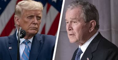 George Bush, Only Living Republican Ex-President, Puts Pressure On Trump To Concede