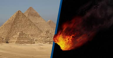 Asteroid The Size Of The Great Pyramid Of Giza To Pass Earth Tomorrow
