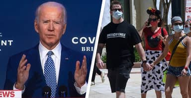 President-Elect Biden Says Masks Are Our 'Most Potent Weapon' Against Coronavirus