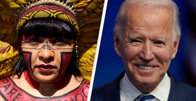 Indigenous Leaders Counting On Joe Biden To Help Save The Amazon