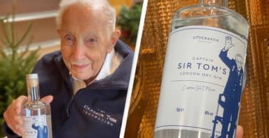Captain Sir Tom Moore Has Launched His Own Gin