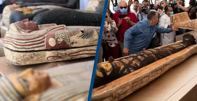 Archaeologists Have Uncovered 160 Ancient Coffins In Egyptian City Of The Dead Since September