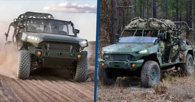 US Army Unveils New Infantry Squad Vehicle Based On Chevy Pickup