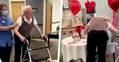 Grandma Moves Into Care Home Because She 'Couldn't Live Without' Husband