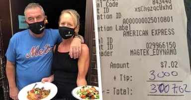 Guy Tips $3,000 On Single Beer To Help Ohio Restaurant Struggling Due To COVID-19