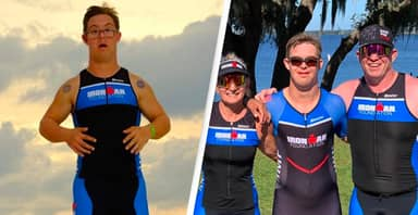 Man From Florida Becomes First Person With Down Syndrome To Complete Ironman Triathlon