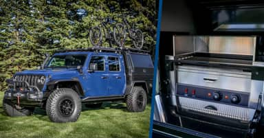 New Jeep Gladiator Top Dog Concept Comes With An Electric Hot Dog Grill