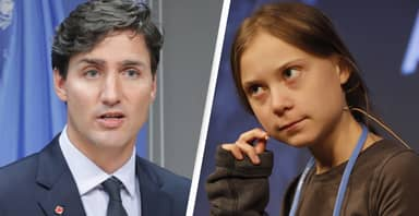 Justin Trudeau Caught Out By Prankster Impersonating Greta Thunberg