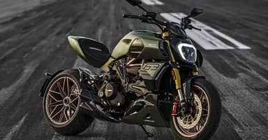 Ducati Reveals Lamborghini-Inspired Diavel 1260 Bike