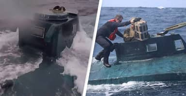 Almost 40 Submarines Smuggling Drugs Stopped By US Coast Guard Last Year