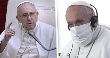 Pope Francis Says Anti-Maskers Are Stuck In 'Their Own Little World Of Interests'