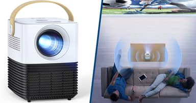 This Mini Projector Can Turn Any Wall Into A Home Cinema