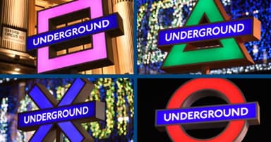 Sony's Iconic PlayStation Shapes Have Taken Over London Underground Station For UK's PS5 Launch