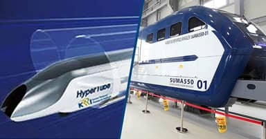 South Korea's Hyper-Tube Train Reached Speeds Over 621mph (1,000km/h) During A Test