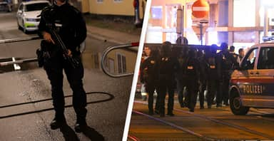 Police In Vienna Launch Manhunt After Deadly 'Terror' Attack Leaves Three Dead