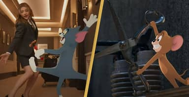 First Trailer For Tom & Jerry Live-Action Movie Just Dropped