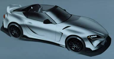Toyota Teases A GR Supra Model With A Targa Top