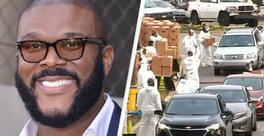 Tyler Perry Donates 5,000 Meals To Families In Need For Thanksgiving
