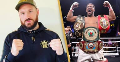 Tyson Fury Tells Anthony Joshua 'I'm Coming For You'