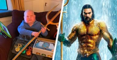Jason Momoa Sends Gifts To Aquaman's Biggest Fan Who's Living With Cancer