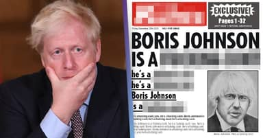 'Boris Johnson Is A F***ing C***' Battling For Christmas Number One
