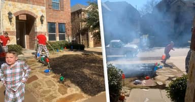 12-Year-Old Boy Nearly Sets House On Fire After Getting Magnifying Glass For Christmas