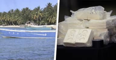 'Ghost Boat' Washes Up On Remote Island With 649 Kilos Of Cocaine On Board