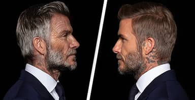 David Beckham Sees Himself At 70 In New Ad For Malaria Campaign