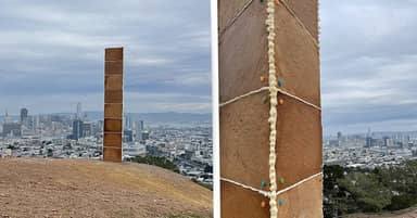 Monolith Made Of Gingerbread Appears In San Francisco On Christmas Day