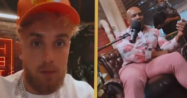 Jake Paul Teams Up With Mike Tyson For Weed-Fuelled Podcast
