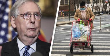 Mitch McConnell Made $3,300 This Week While Blocking $2,000 Stimulus Check For Struggling Americans