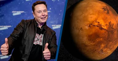 Elon Musk 'Confident' Humans Will Land On Mars In Six Years