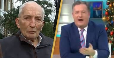 91-Year-Old Who Received COVID Vaccine Asks Who Piers Morgan Is During Interview