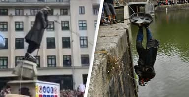 Four Charged With Criminal Damage For Throwing Edward Colston Statue Into Bristol Harbour