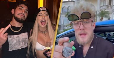 Dillon Danis Fires Back At Jake Paul By Posing With YouTuber's Ex-Wife Tana Mongeau