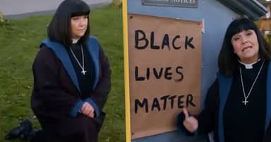 Dawn French Delivers Black Lives Matter Sermon In Vicar Of Dibley's Return