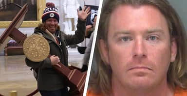 Man Pictured Stealing Nancy Pelosi's Lectern During US Capitol Riot Arrested