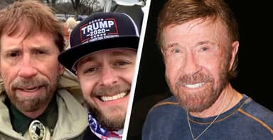 Chuck Norris Confirms He Was Not Rioting At US Capitol Last Week After Lookalike Spotted