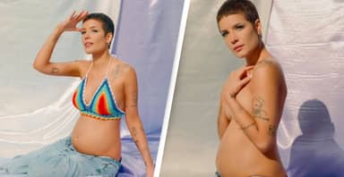 Singer Halsey Announces She's Pregnant With Her First Child