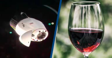 Space X Is Bringing A Case Of Wine That's Been On The ISS Back To Earth