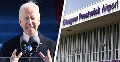 10,000 People Sign Petition To Rename Scottish Airport 'Joe Biden International'