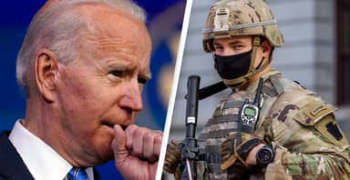 FBI Warns QAnon May Pose As National Guard During Biden's Inauguration